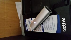 PAX-2 on its charger