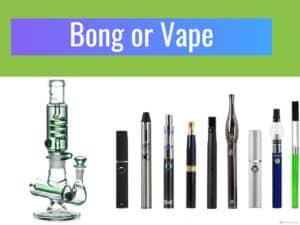 vaporizer or bong, cannabis, medical marijuana