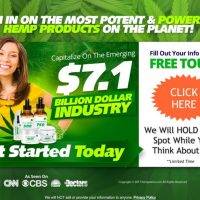 Make Money with a New Opportunity in the Emerging $7.1 Billion CBD Industry!
