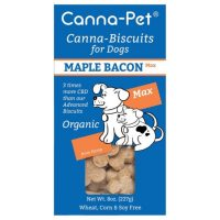Canna-Biscuits for Dogs: Advanced MaxHemp Maple Bacon – Organic